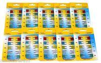 ASSORTIMENT 100 MINI FUSIBLES ENFICHABLES 12V AUTO VOITURE 10 15 20 25 30A C1906