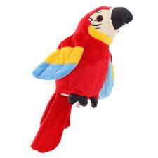 Parrot Perroquet répète ce que vous dites Mimicry Pet Toy Peluche Buddy