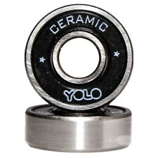 YOLO Ceramic Bearings - Set Of 8 With OIL ( Skate & Skateboard )
