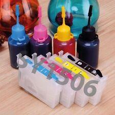 NoNoEM Refillable Cartridges KIT for Epson T22 TX120 TX130 1321 1332 1333 1334