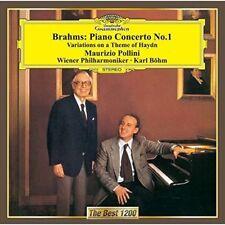 MAURIZIO POLLINI-BRAHMS: PIANO CONCERTO NO.1 ETC.-JAPAN CD C15