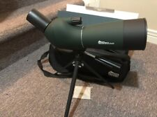 Spotting scope 20-60x60mm with tripod and carry bag.