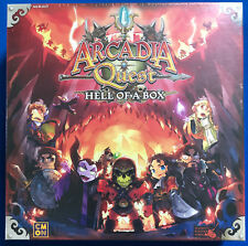 NEW Arcadia Quest: Inferno - Hell of a Box Kickstarter Exclusives CoolMiniOrNot