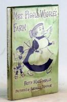 Betty MacDonald Maurice Sendak 1st Ed 1954 Mrs Piggle-Wiggle's Farm HC w/DJ