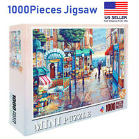 MINI 1000 PIECE JIGSAW PUZZLES City romance city education KID ADULTS PUZZLE TOY