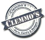Clemmo's Pins Cards & Badges