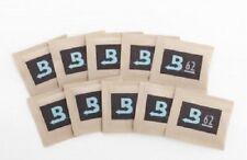 10 Pack Boveda RH 62% 8 gram Humidity 2 Way Control Humidor packets