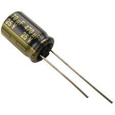 4 Elko Panasonic FC 470uF 25V 105°C Low impedance Kondensator radial 854356