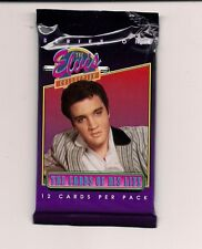 Elvis Presley Trading Cards The Cards of His Life Series One Unopened Pack 12