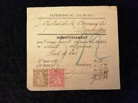 Schweiz - Brief Stück Stempel 1877 Fontaines Sitzende Helvetia 2+10 C   Nr.5