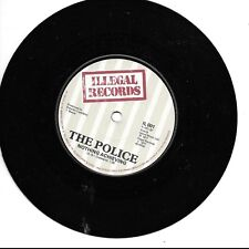 "The Police Nothing Achieving / Fall Out UK 45 7"" single +Nothing Achieving"