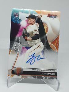 2020 Bowmans Best ~ Logan Webb ~ Rookie RC Auto Giants MLB Baseball Card
