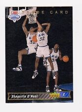 1992-93 Upper Deck #1B Shaquille O'Neal TRADE Rookie Card