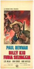 LEFT HANDED GUN MOVIE POSTER Italian locandina PAUL NEWMAN R64 aka BILLY THE KID