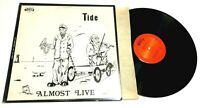 Almost Live by Tide LP prog rock