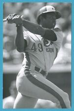 Warren Cromartie (1983) Montreal Expos Vintage Baseball Postcard PP01084