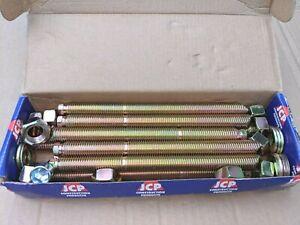 10 X JCP M16 X 190 THREADED STUD 1 BOX