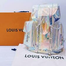 Louis Vuitton Virgil Abloh Christopher GM Backpack Bag Prism M44766