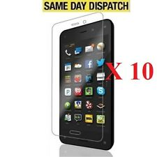 10 X Front Clear LCD Screen Protectors Guard Cover Film for Amazon Fire Phone