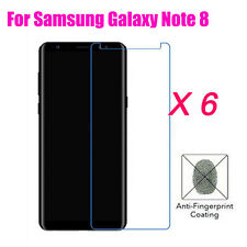 6Pcs Matte/Anti-Glare Front Screen Protector Film Skin For Samsung Galaxy Note 8
