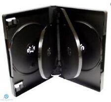 10 x 5 VIE 26mm DVD Nero Spina Dorsale contiene 5 DISCHI VUOTI NUOVI sostituzione caso HQ AAA