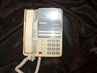 Fujitsu F10B-0791-B001 ivory telephone Telecom business phone handset VoIP