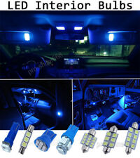 10000K Blue Interior LED Lights Package Bulb SMD For 2002-2009 Chevy Trailblazer
