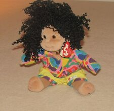 Ty Beanie Kids Calypso African American Girl Doll Plush New with tag