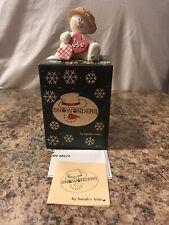 "Sarah's Attic Snowonders Feburary ""Valentino� Valentines Day Love Reg. Card"