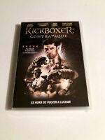 """DVD """"KICKBOXER CONTRATAQUE"""" COMO NUEVO JEAN-CLAUDE VAN DAMME MIKE TYSON ALAIN MO"""