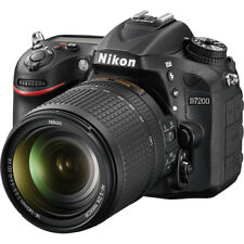 Nikon D7200 24.2MP DX-Format  Digital SLR Body w/ 18-140 VR NIKKOR Zoom Lens Kit