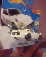 Hot wheels 2017 E case  'CUSTOM DATSUN 240Z Fugu Z short card