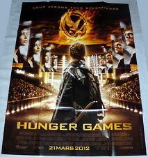HUNGER GAMES  Jennifer Lawrence  Josh Hutcherson LARGE French POSTER #2