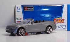 "Bburago 00793  BMW M4 Cabrio ""Met Grey"" - METAL Scala 1:43"