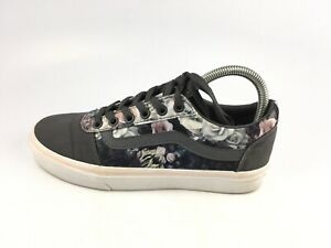 Vans 500714 OLD Skool Off the Wall/ Gray Floral Women's Skate Shoes Sz 7 US