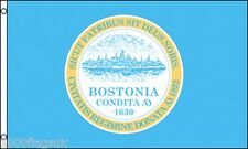 Boston City Massachusetts State United States of America 5'x3' Flag !
