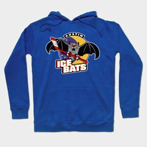 Austin Ice Bats hoodie hooded sweatshirt CHL WPHL ice hockey Texas Stars