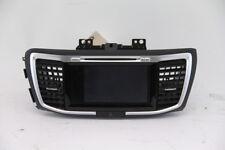 Honda Accord Navigation Display Radio CD Changer Player 39100-T2F-A70 OEM 16 17