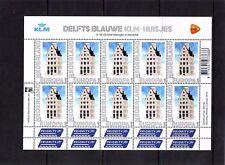 Nederland NVPH 2898 Vel Persoonlijke zegels KLM Huisjes 2012 Postfris