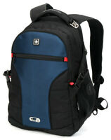 """Swiss 15"""" Waterproof Laptop Backpack School Backpack Shoulder Bags SW9016 Blue"""