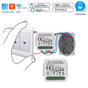 Home Smart Curtain Roller Shutter Switch Relay Module WiFi Bluetooth APP Control