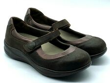 SAS Mary Jane Step Out Women's Size 7 W Tripad Comfort Leather Suede Shoes