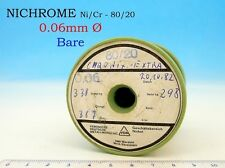 1x 121g SPOOL NICHROME NIKROTHAL 42AWG 0.06mm 389 Ω/m 118 Ω/ft Resistance WIRE