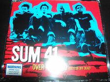 Sum 41 Over My Head (Better Off Dead) Australian 4 Track CD Single