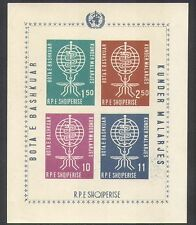 Albania 1962 Malaria/Medical/Health/Disease/Insects/Mosquito impf m/s (n37993)