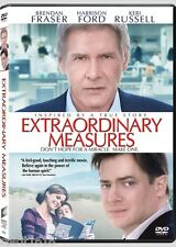 Extraordinary Measures DVD Widescreen  Harrison Ford Brendan Fraser Keri Russell