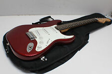 Fender Squier Affinity Stratocaster Race Red Stratocaster Electric Guitar w/ GIG
