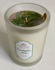NEW! BATH & BODY WORKS WHITE BARN SCENTED CANDLE - EUCALYPTUS MINT - SALE