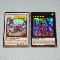 Yugioh Judgment the Dragon of Heaven + Dark Armed Annihilation Ultra 2 Card Set