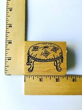 Me and Carrie Lou Rubber Stamps - Foot Stool - NEW